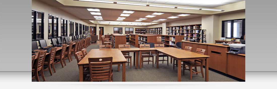 Buffalo High School - Library